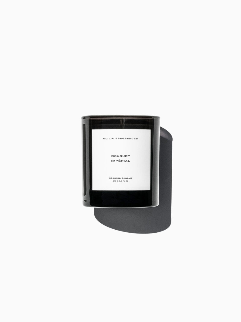 olivia fragrances – scented candle – bouquet imperial 01